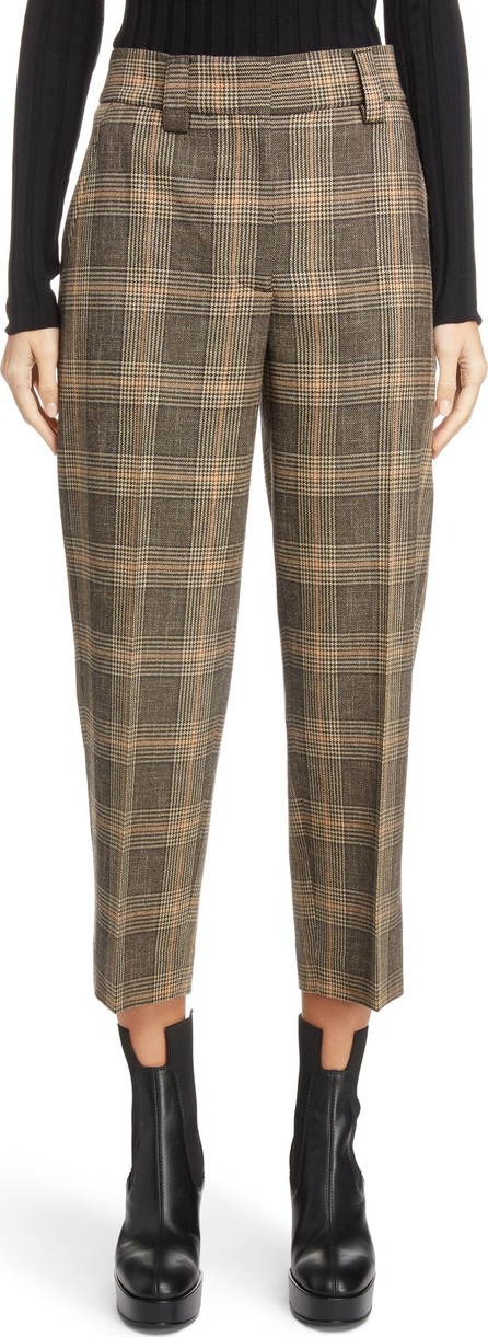 Acne Studios Check Crop Suit Pants