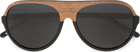3.1 Phillip Lim Wooden frame sunglasses