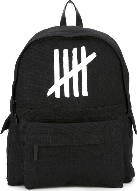 Ann Demeulemeester Blanche logo print backpack