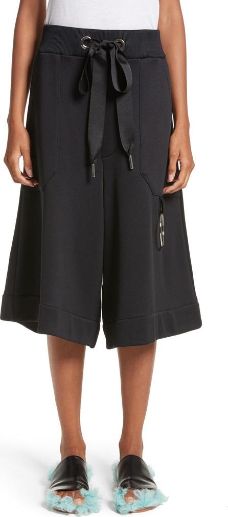 Marques'Almeida Marques'Almeida Tracksuit Wide Leg Fleece Shorts