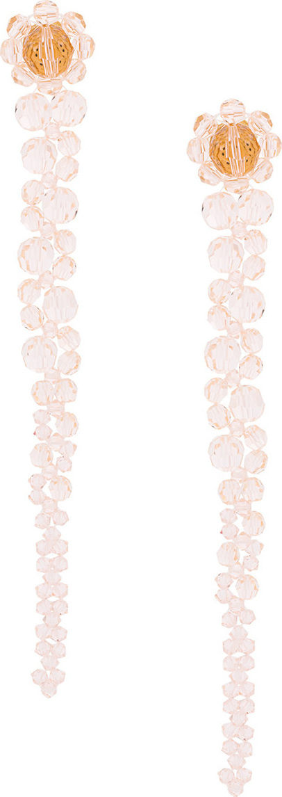 Simone Rocha Faceted bead earrings