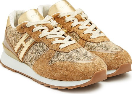 Hogan Suede and Leather Sneakers