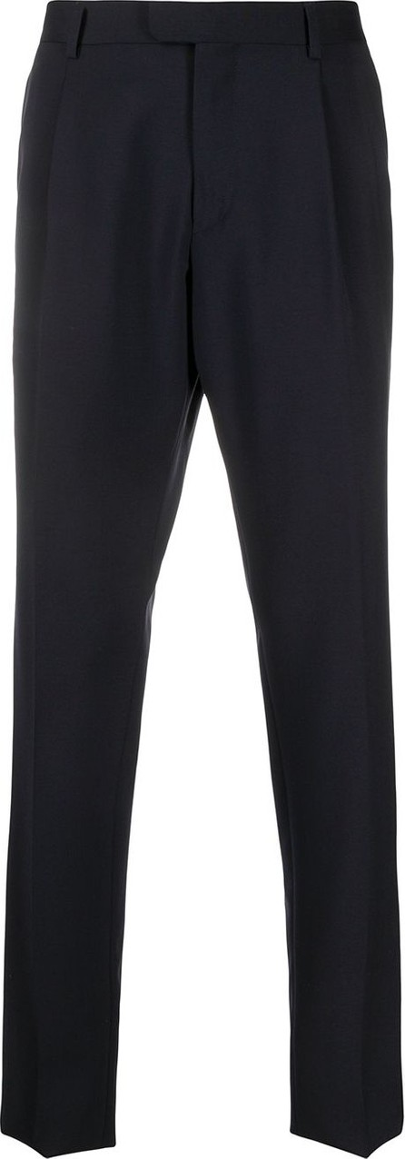 Z Zegna Slim-fit tailored trousers
