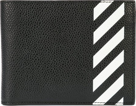 Off White Striped wallet