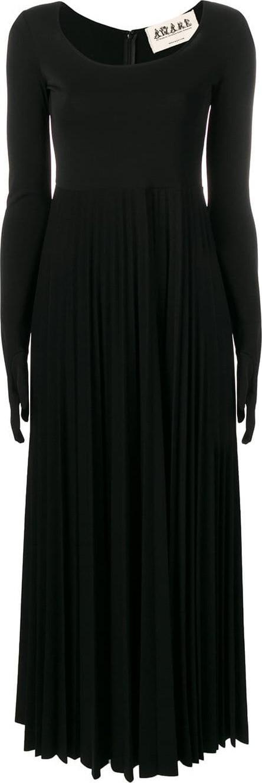 A.W.A.K.E Gloved pleated dress