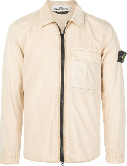 Stone Island Zipped shirt jacket