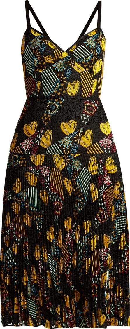 Fendi Embroidered lace dress