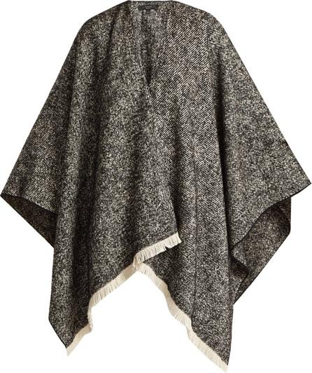 Weekend Max Mara Fringe-trim knitted poncho