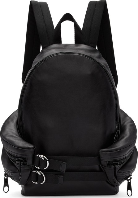 Alexander Wang Black Double Buckle Backpack