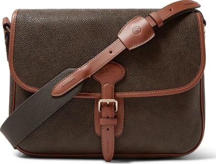 Mulberry Heritage Pebble-Grain Leather Messenger Bag