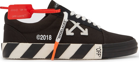 Off White VULC canvas trainers