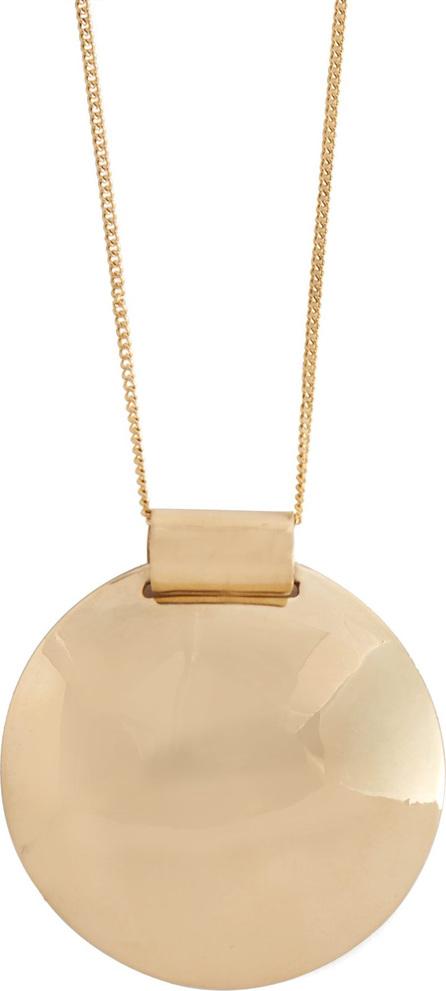 Fay Andrada Pallo brass pendant necklace