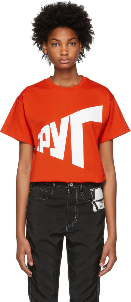 Gosha Rubchinskiy Red Graphic T-Shirt