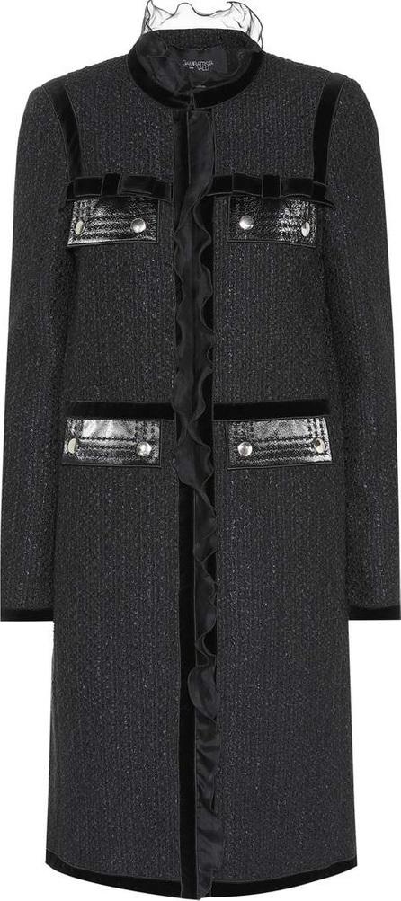 Giambattista Valli Tulle-trimmed coat