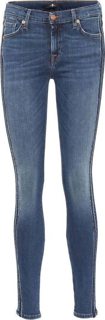 7 For All Mankind The Skinny Slim Illusion jeans