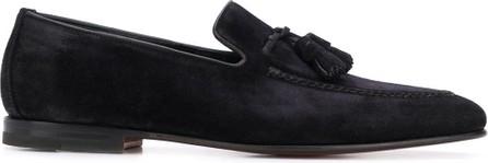 Santoni Tassel detail loafers