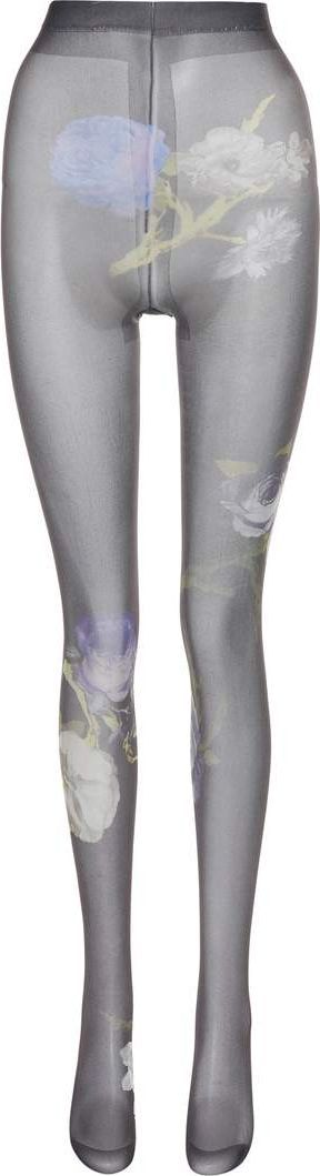 Acne Studios Niola floral-printed tights