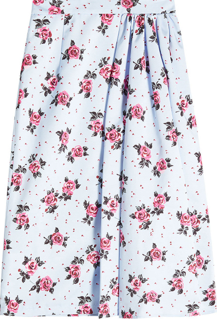Alessandra Rich Printed Skirt
