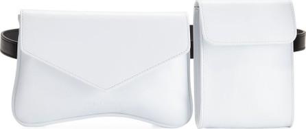 Avec La Troupe Galaxy Two-Tone Calf Belt Bag
