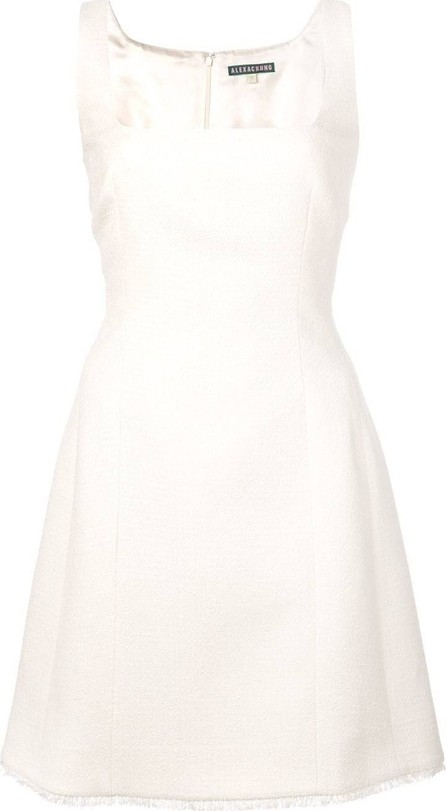 Alexachung square-neck short dress