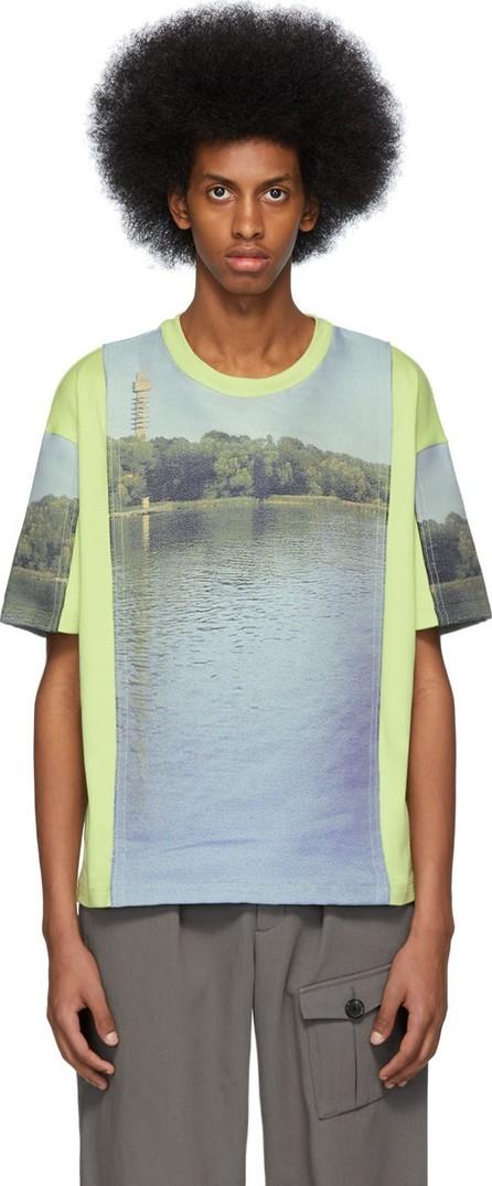 Acne Studios Green Ebannel Land Inter T-Shirt