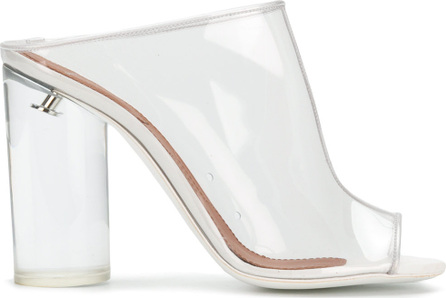 Givenchy Open toe transparent mules