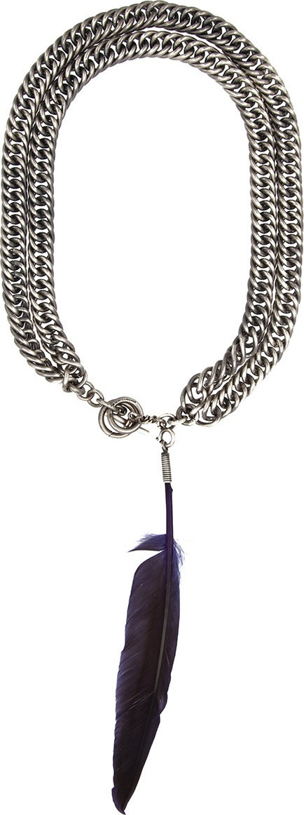 Ann Demeulemeester chain necklace