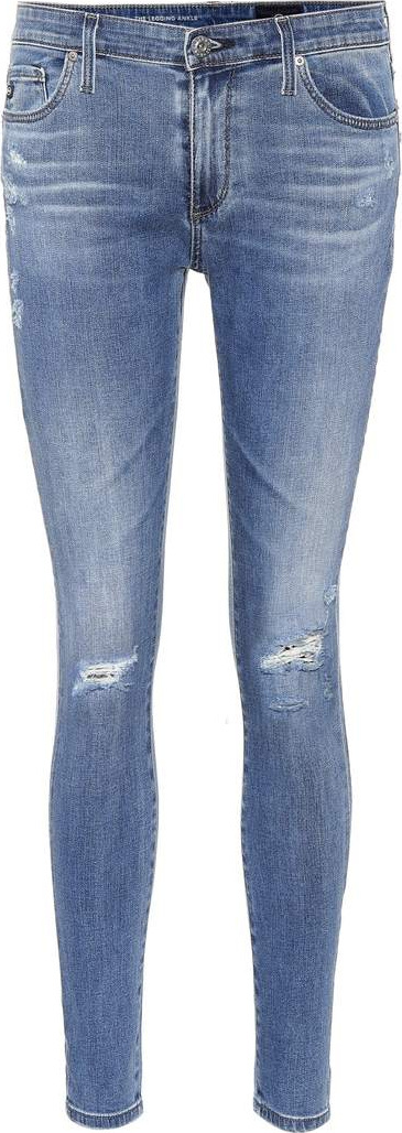 AG Jeans The Legging Ankle blue skinny jeans