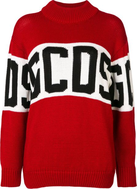 Gcds embroidered logo top