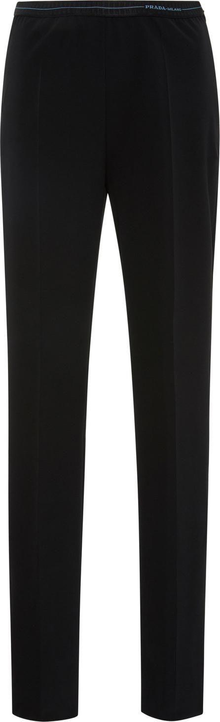 Prada Stretch-Knit Slim-Leg Trousers
