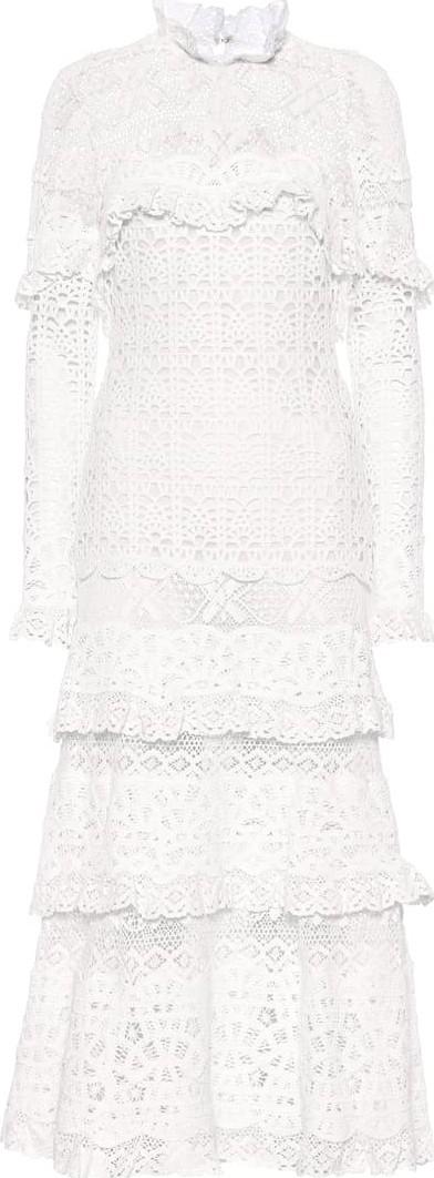 Jonathan Simkhai Crochet cotton midi dress