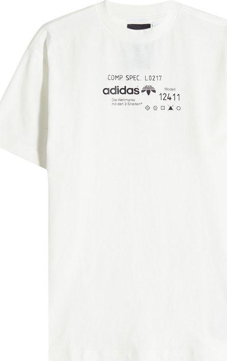 Adidas Originals by Alexander Wang Printed Cotton T-Shirt