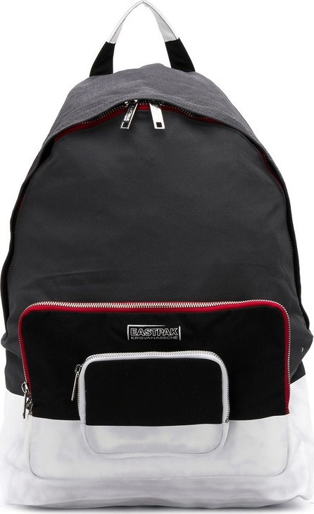 Eastpak X Kris Van Assche colourblock backpack