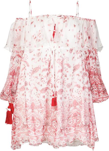 Ermanno Ermanno Scervino Paisley floral print dress