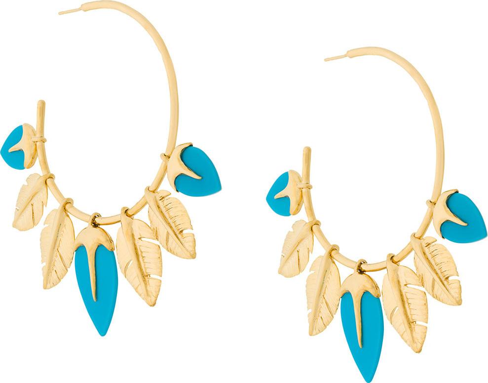 Aurelie Bidermann - Talitha turquoise earings