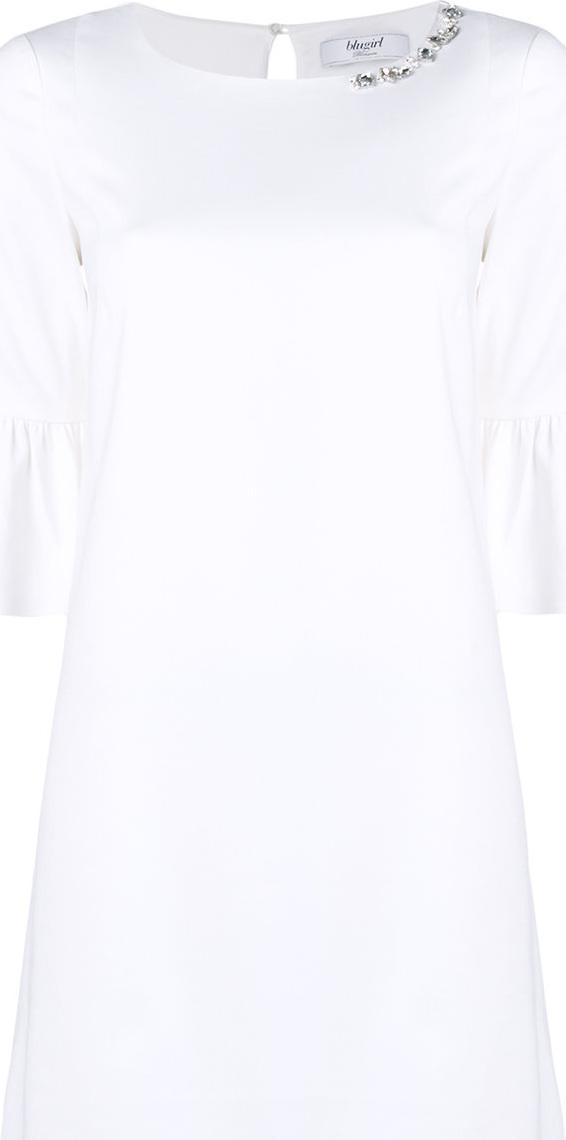 Blugirl - Ruffled sleeve dress