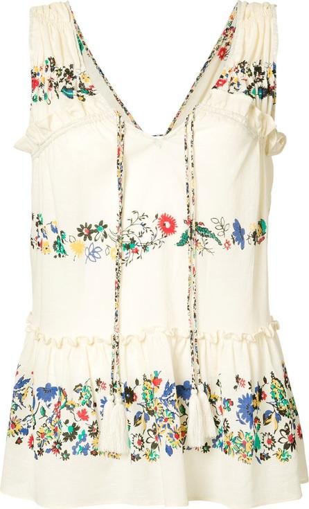 Derek Lam 10 Crosby floral vest