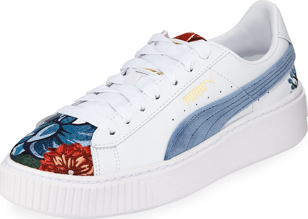 PUMA - Hyper Embroidered Platform Sneakers
