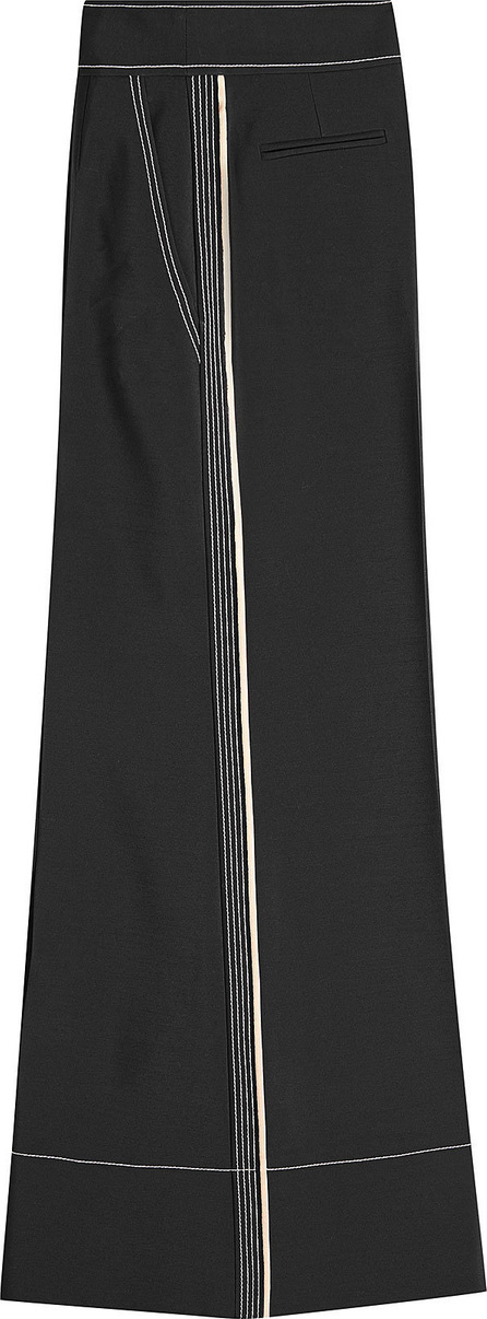 Roksanda Hasani Pants with Wool and Silk