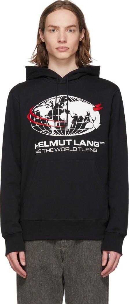 Helmut Lang Black 'World Turns' Hoodie
