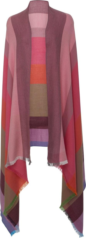 Lanificio Arca Batavia Color-Block Silk Cashmere Scarf