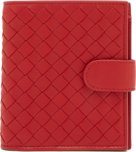 Bottega Veneta Intrecciato bi-fold leather wallet