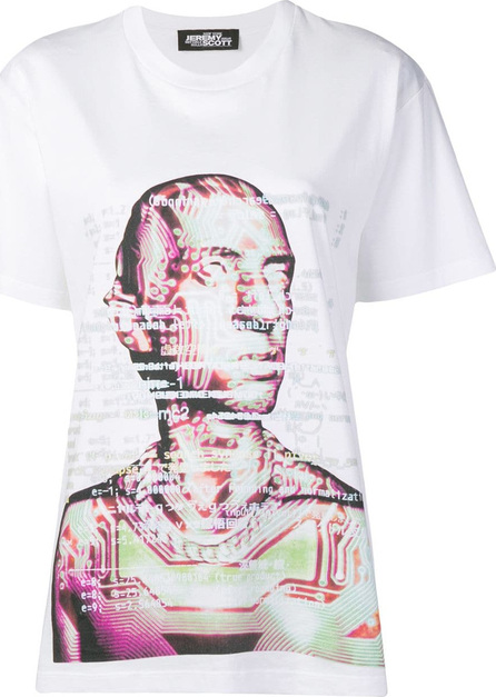 Jeremy Scott Face print T-shirt