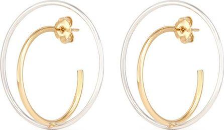 Charlotte Chesnais 'Saturn' medium hoop earrings