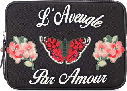 Gucci Embroidered iPad case