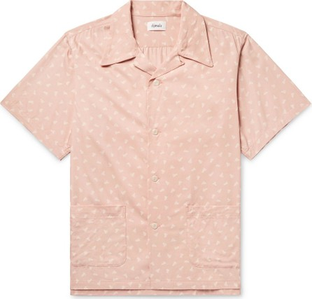 Chimala Camp-Collar Printed Woven Shirt