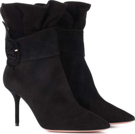 Aquazzura Palace 85 ankle boots