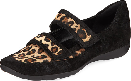 Sesto Meucci Gyan Printed Grip-Strap Walking Sneakers