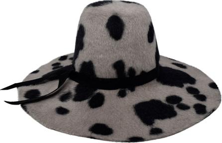 Gigi Burris Aliyah Floppy Spotted felt Hat