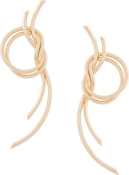 Eshvi statement knot earrings